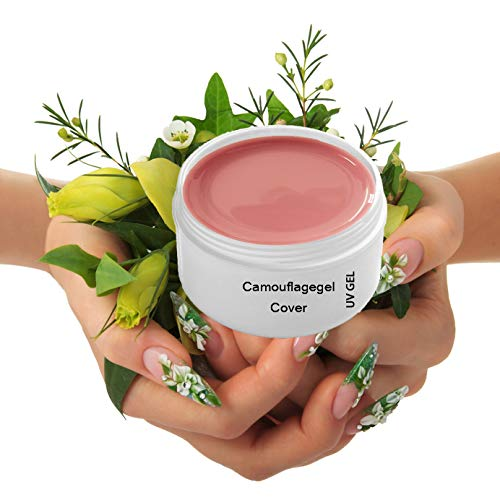 Gel uv cover make up mask camouflage ROSE 15 ml - Achat